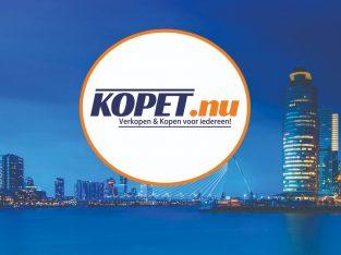 Zoek naar contacten of berichten vindt het op www.kopet.nu