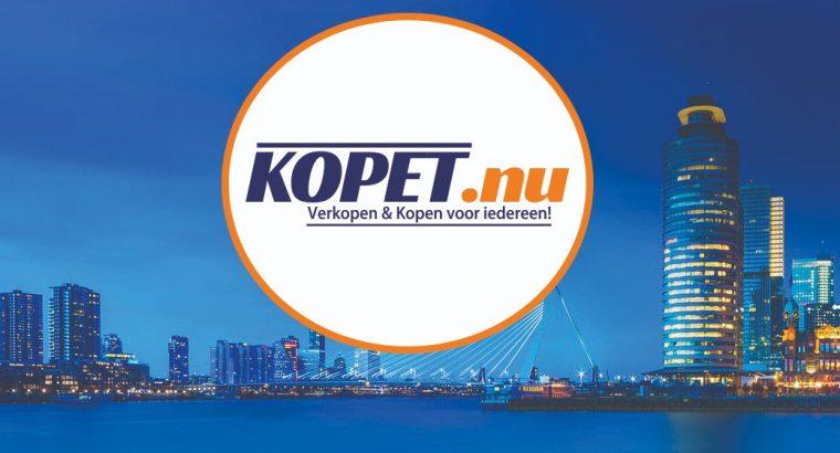 Een zeil of motorboot vindt het op www.kopet.nu