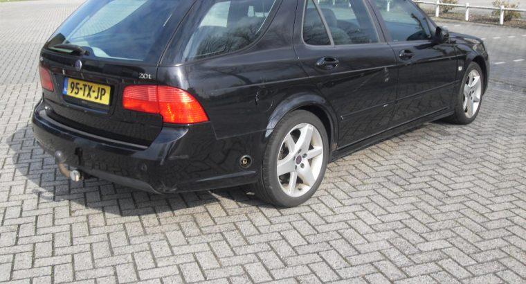 Saab 9-5 Station in mooie diep zwarte kleur bj 2007 en uiteraard wat ervaring km stand 534560