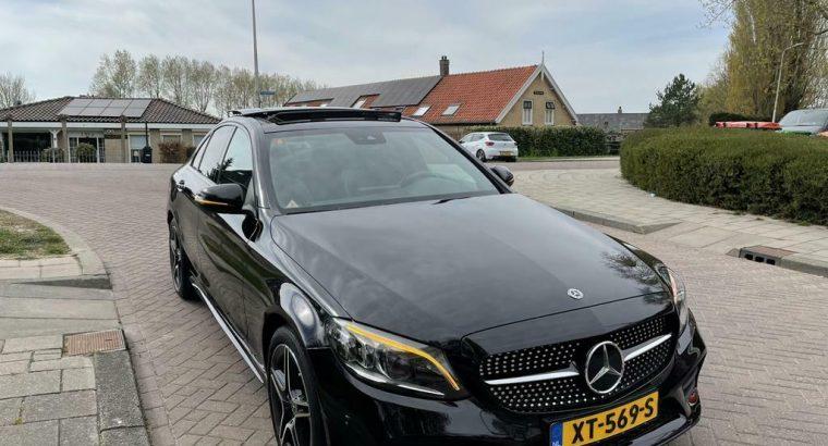 Mercedes C-Klasse C180 156pk 9G-TRONIC 2019 Amg Night pak