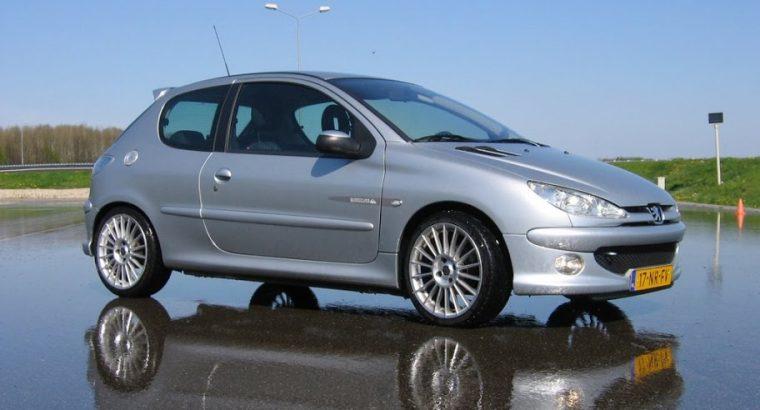 Peugeot 206 1.4 3D 2008 Grijs
