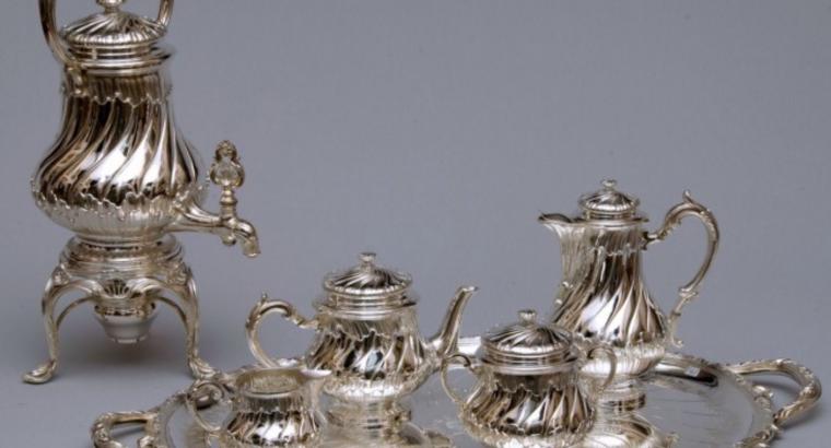 Vintage Korenaar koffie-servies 6-deling Thomas Germany