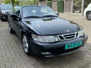 Saab 9-3 2.0 T Cabrio AUT 2002 Zwart