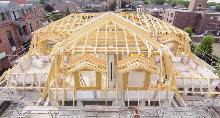 Terhalle – houtbouw   Vastgoedbouw   Binnenwerk   Ramen & gevels