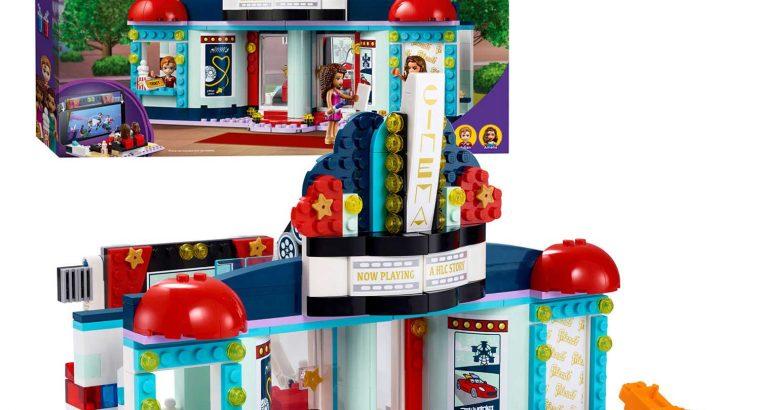 LEGO – Friends – 41095, 41108, 41006, 41323 – Huis, winkel