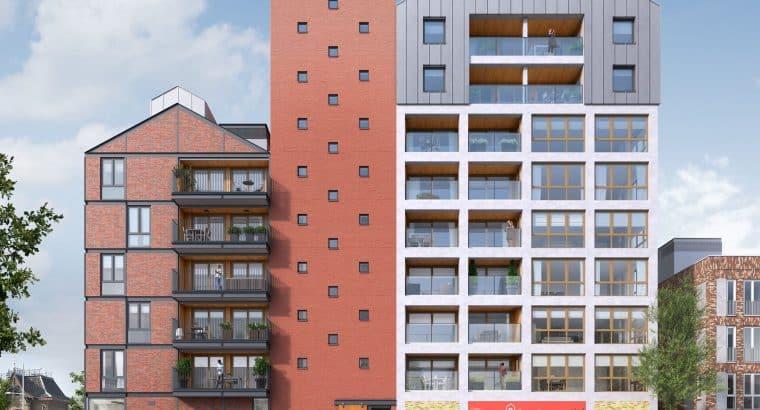 Appartementengebouw De Kroon maakt het Ebbingekwartier compleet!