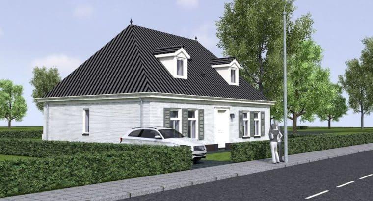 Landelijk gelegen nog te bouwen luxe en royale notariswoning