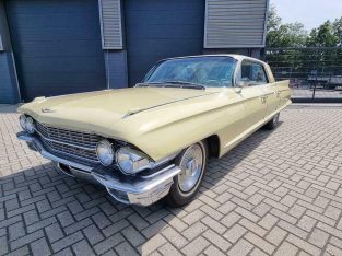 Cadillac de ville 1962 v8 park avaneu uitvoering