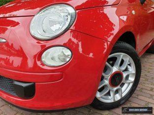 Fiat 500 1.2 Pop Black Aux/Geen airco/Lmv/Parrot