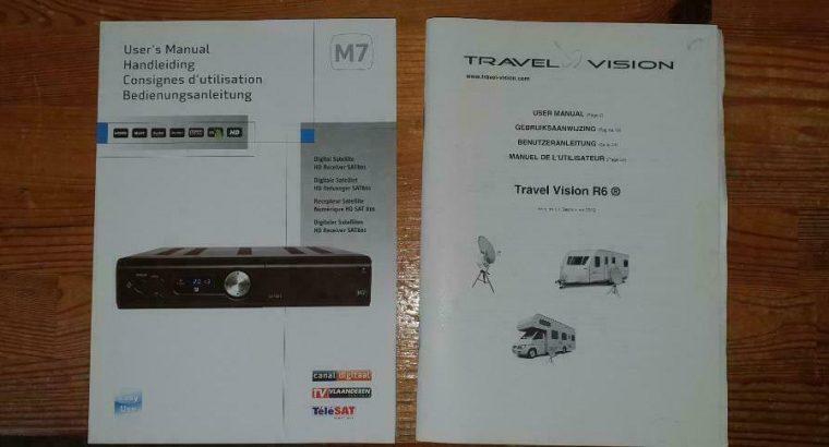 Travel Vision R6 automatische schotelantenne