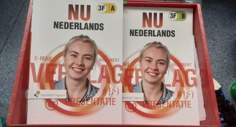 Leerwerkboek. Mbo niveau 3 en 4 Nederlands boeken deel a + b