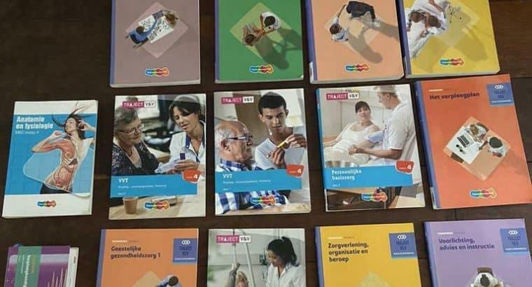 Mbo Verpleegkunde Niveau 4 boeken leerjaar 1 tot 4