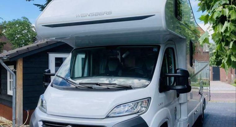 Camper weinsberg alkoof xxl garage 150pk euro 6 2018 6 pers