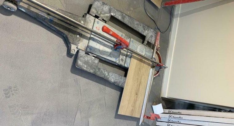 Tegelsnijder van montolit voor tegels tot 120cm