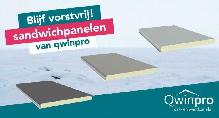 Sandwichpanelen dak & wand, 1e & 2e keus, vanaf € 10,5/m2
