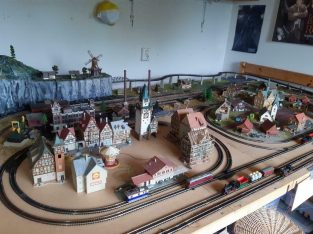 N spoor modeltreinbaan