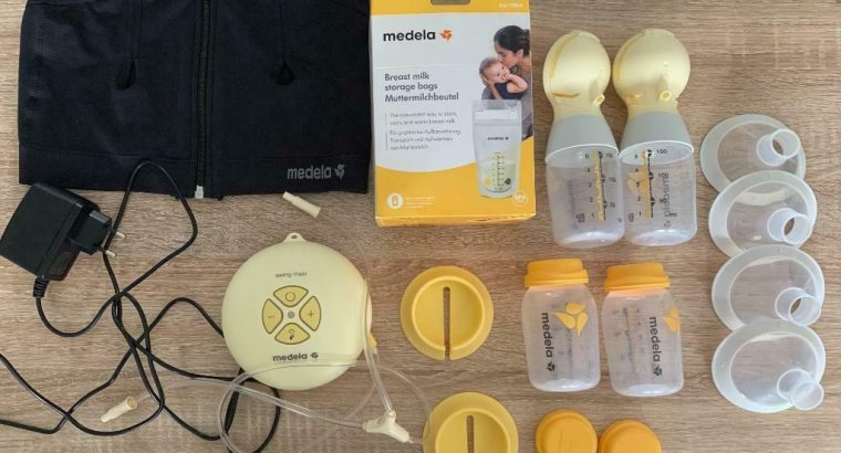 Medela elektrische borstkolf + accessoires