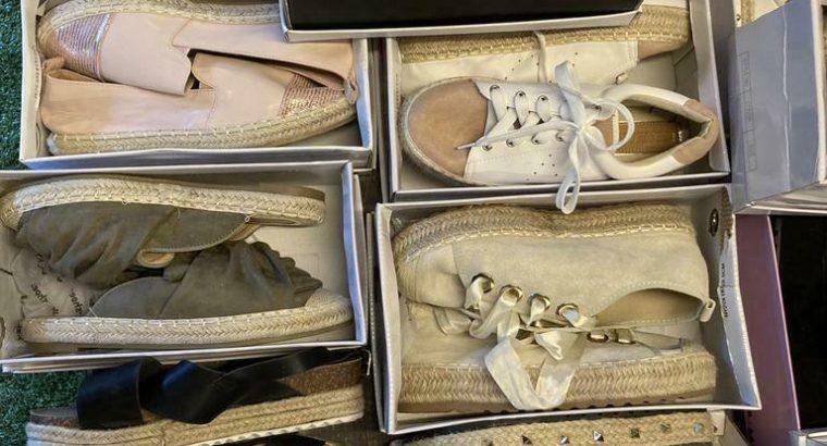 Partij Espadrille / slippers / schoenen / hakken KOOPJE !!