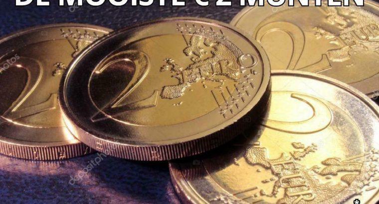 Goedkope € 2 herdenkingsmunten *update 05-07-2021*