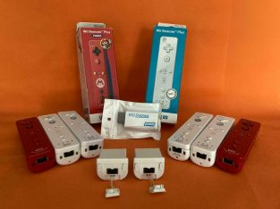 Wii controllers / HDMI adapter / nunchuk / motion plus vanaf