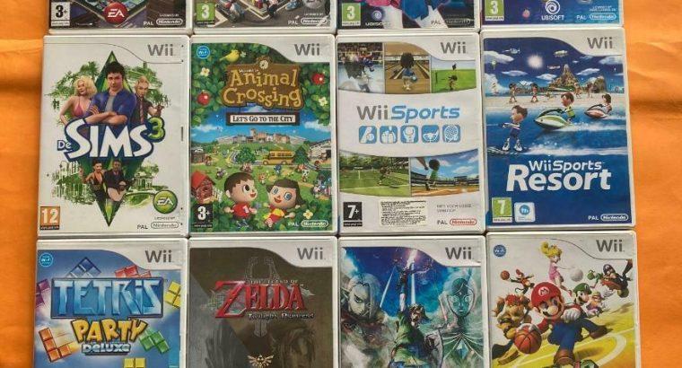 Wii games – (alle toptitels, webshop, krasvrij)