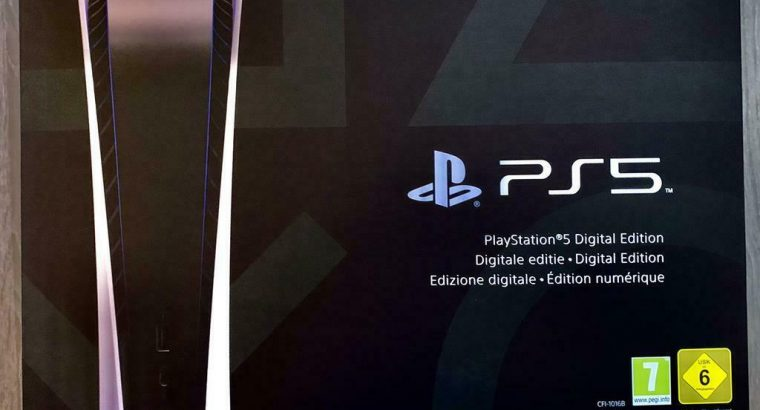 Sony PS5 Digital edition – gesealed/aankoopbewijs