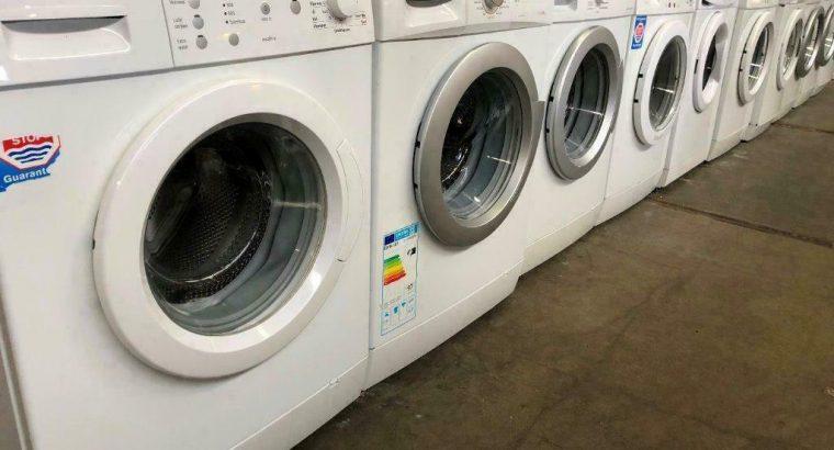 200 stuks top wasmachines vanaf €100 met 3 maanden garantie