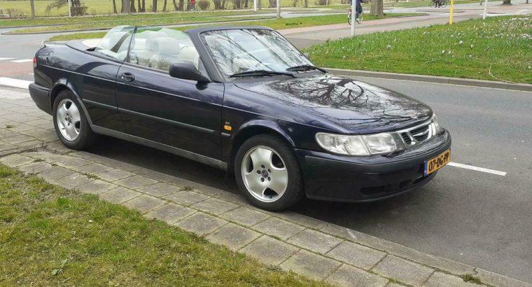 Saab 9-3 2.0 Turbo Cabrio AUT 1999 Blauw