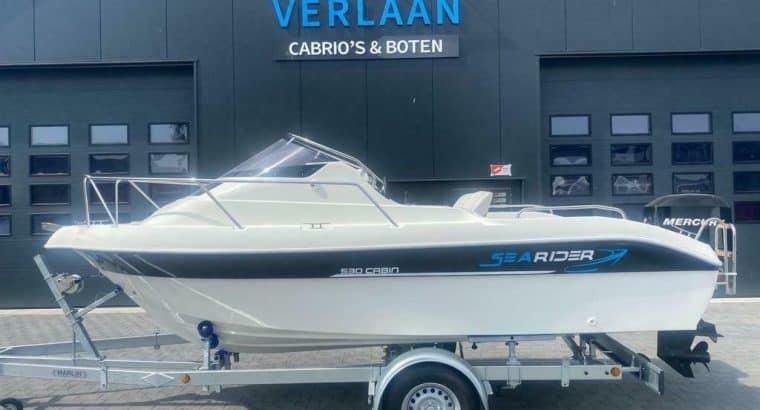Searider 530 Cabin / 60 pk Mercury / Nieuwe boot / Direct