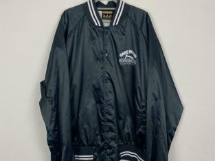 Vintage nylon varsity jacket