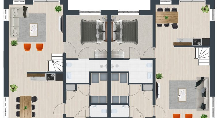 Project Delftlanden   14 levensloopbestendige woningen Es & Brink