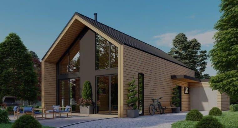 Norges Hus; gespecialiseerd in de productie en montage van houtskeletbouw prefabhuizen
