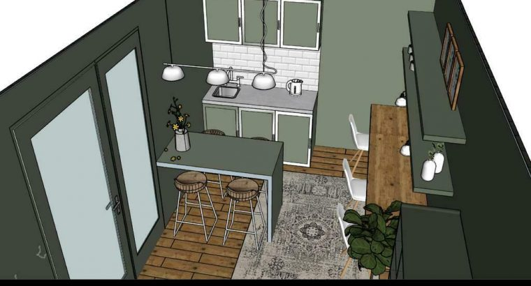 Thuiskantoor/ recreatieverblijf/ praktijkruimte