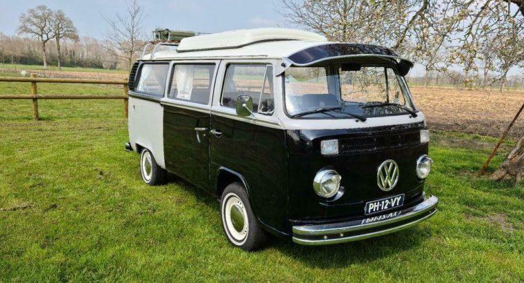 Volkswagen Transporter T2b uit 1978.