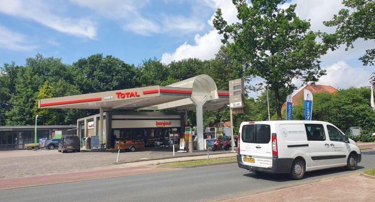 Total Tankstation Haren, voor uw tussendoortjes, tank stops en meer